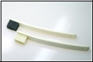 Burgol Shoe Polish Applicator Brush, schwarz oder hell
