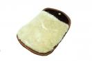 Polierhandschuh aus Schafsfell, braun